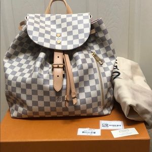 Louis Vuitton sperone azur backpack, like new